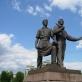 """Napoleonas Petrulis ir Bronius Vyšniauskas, """"Pramonė ir statyba"""". 1952 m."""