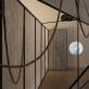 """Žilvinas Landzbergas, instaliacijos """"R"""" fragmentas. A. Vasilenkos nuotr."""