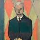Xan Krohn,  Sergejaus Ščukino portretas visu ūgiu. 1916 m. Ermitažo muziejus.