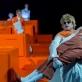 """Scena iš spektaklio """"Romulas Didysis"""". J. Gellner nuotr."""
