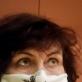 Eglės Gandos Bogdanienės kurta apsauginė kaukė. 2 karantino diena