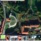 """""""Google Earth"""" pateikiama nuotrauka iš palydovo, kurioje matyti buvusios ligoninės pastatai"""
