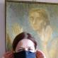 Eglės Gandos Bogdanienės kurta apsauginė kaukė. 7 karantino diena