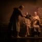 """Scena iš spektaklio """"Vienos miško pasakos"""". L. Vansevičienės nuotr."""