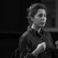 Lenkų-prancūzų teatro režisierė Anna Smolar. M. Vorobjovaitės nuotr.