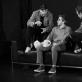 """Spektaklio """"Panika"""" repeticija. D. Stankevičiaus nuotr."""