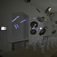 """Instaliacija """"Paskutinė vakarienė"""", autoriai - architektai Jurgis Dagelis, Justinas Dūdėnas. Z. Nekrošiaus nuotr."""