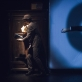"Scena iš spektaklio ""Kafka Insomnia"". D. Stankevičiaus nuotr."