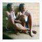 """Zanele Muholi, """"Katlego Mashiloane and Nosipho Lavuta. Ext. 2, Lakeside, Johannesburg"""". 2007 m. Leidus autoriui, """"Stevenson"""", Keiptaunas / Johanesburgas, ir """"Yancey Richardson"""", Niujorkas. © Zanele Muholi"""