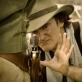 """Quentinas Tarantino filmuojant """"Ištrūkusį Džango"""""""