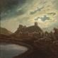"""Darius Bastys, """"Priešų tankai rengiasi pulti Gedimino pilį"""" (V. Dmachausko paveikslo motyvais). 2017 m. Autoriaus nuotr."""