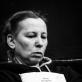 "Eglė Mikulionytė ""Tartiufo"" repeticijoje. T. Ivanausko nuotr."