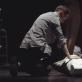 "Scena iš spektaklio ""Aklieji"". E. Krikščiūno nuotr."