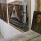 """Vaizdas iš parodos Antakalnio galerijoje """"Žinomas nežinomas"""", skirtos Antanui Kmieliauskui atminti. 2019 m."""