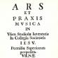 """Ž. Liauksmino vadovėlio """"Ars et praxis musica"""" titulinis puslapis. 1693 m. Nuotr. iš festivalio rengėjų archyvo"""