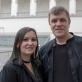 """Festivalio """"Banchetto musicale"""" meno vadovas Darius Stabinskas ir klavesinininkė Alina Rotaru. V. Ščiavinsko nuotr."""