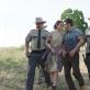 "Casey Affleckas ir Rooney Mara filme ""Ain't them Bodies Saints"" (2013)"