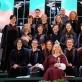 """Bernardinų bažnyčios choras """"Langas"""" 2014 m. Dainų šventėje Kaune"""