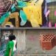 "Projektas ""Ocho por Tres"", Paula Fraile tapyba ir Ignacio Pérez Joffre plyta, nuotr. šaltinis https://www.ochoportres.com/"