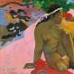 """Paul Gauguin, """"Tu pavyduliauji?"""". 1892 m. Puškino vaizduojamosios dailės muziejus"""