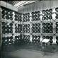 Teodoras Kazimieras Valaitis, pusbrangių akmenų ekspozicijos stendas SSRS paviljone San Paulo tarptautinėje prekybos pramonės parodoje. Iliustracija iš Rusijos valstybinio ekonomikos archyvo.
