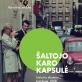 """Karolina Jakaitė, """"Šaltojo karo kapsulė. Lietuvių dizainas Londone 1968"""", dizaineriai Laura Grigaliūnaitė ir Julijus Balčikonis. Leidykla """"Lapas"""""""