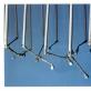 """""""Butas'99"""". Gediminas Akstinas. Lazdelės  1998, medis, metalinė pakaba, 166×50×150 cm   Nuotrauka iš menininko asmeninio archyvo"""