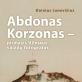 """Knygos """"Abdonas Korzonas – pirmasis Vilniaus vaizdų fotografas"""" pristatymas"""