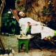 """Brolių Lumiere'ų operatoriaus Gabrielio Veyre'o autoportretas (Kasablanka, 1908), eksponuojamas parodoje """"Grand Palais"""""""