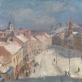"""Vytautas Mackevičius, """"Vilnius. Didžioji gatvė"""". 1942 m."""