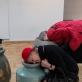 """Arturo Bumšteino garsinė instaliacija """"Molinės gerklės"""".D. Petrulio nuotr."""