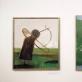 Algimanto Kuro kūriniai, ekspozicijos fragmentas. V. Nomado nuotr.