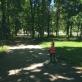 Sapiegų parkas karštą vasaros dieną. M.Krikštopaitytės nuotr.