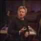 """Romanas Polanskis ir Mathieu Amalricas filmuojant """"Venerą kailiuose"""""""