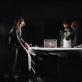 """Spektaklio """"Ledas"""" pristatymas menų fabrike """"Loftas"""" . M. Penkutės nuotr."""