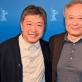 Angas Lee ir Hirokazu Kore-eda Berlyno kino festivalyje. R. Heine nuotr.