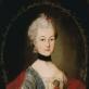 Pranciškus Paulikovičius. Viktorijos Pociejienės portretas. Apie 1760 m. Lvovo nacionalinė dailės galerija