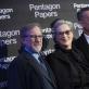 """Stevenas Spielbergas, Maryl Streep ir Tomas Hanksas per filmo """"Valstybės paslaptis"""" premjerą"""