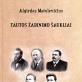 """Algirdo Matulevičiaus knygos """"Tautos žadinimo šaukliai"""" pristatymas"""