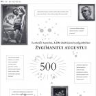 """Žygimantas Augustinas """"Žygimantui Augustui 500"""". 2020 m."""