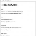 """Tomas Daukša """"Anonsas"""""""