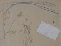 """Arvydas Šaltenis, """"Laiškas iš Paryžiaus"""". 1992 m."""