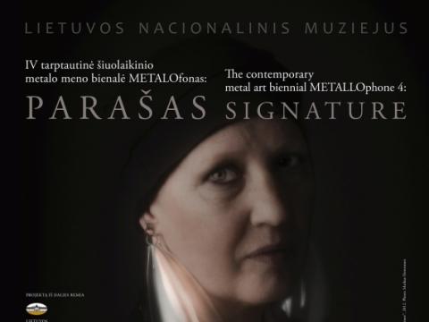 """Parodos """"METALOfonas"""" plakatas"""