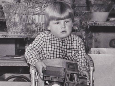 Aktorius Martynas Nedzinskas vaikystėje