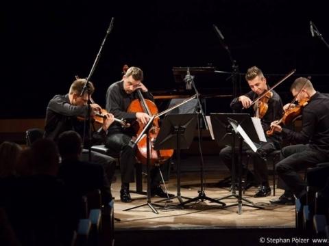 """Styginių kvartetas """"Mettis"""". S. Polzerio nuotr."""