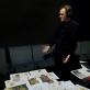 """Povilas Makauskas spektaklio """"Mano fėjų herbariumas"""" repeticijoje. NKDT nuotr."""