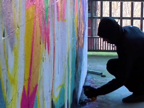 """""""Banksy. Nelegalaus meno iškilimas"""""""